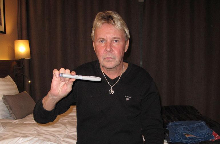 Matti Nykänen sairastui diabetekseen.
