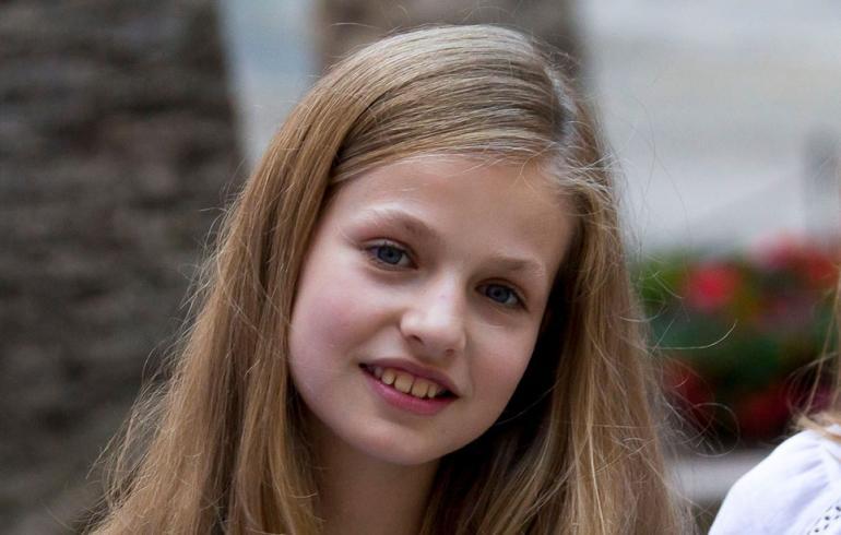 Espanjan prinsessa Leonor