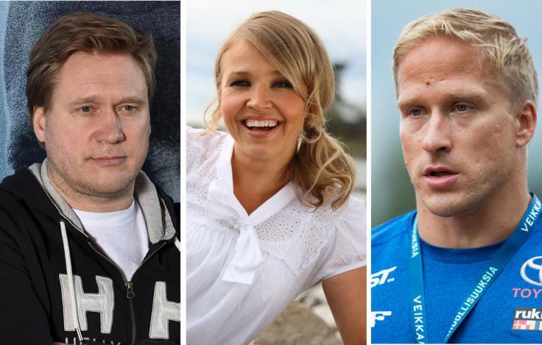 Samuli Edelmann, Marita Taavitsainen ja Leo-Pekka Tähti