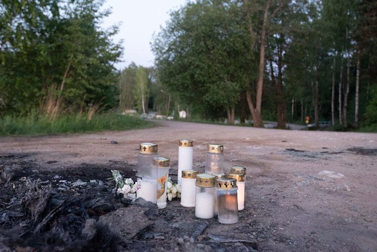 Raa´an henkirikoksen uhri sullottiin auton peräkonttiin ja sytytettiin tuleen.