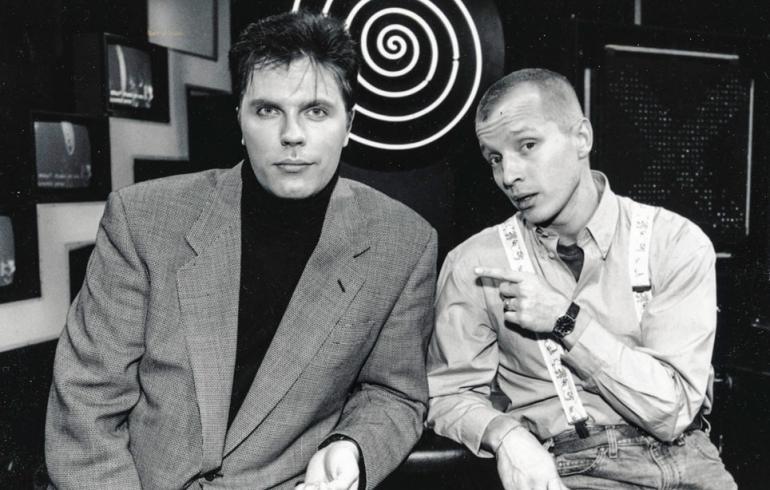 Jari Sarasvuo ja Simo Rantalainen