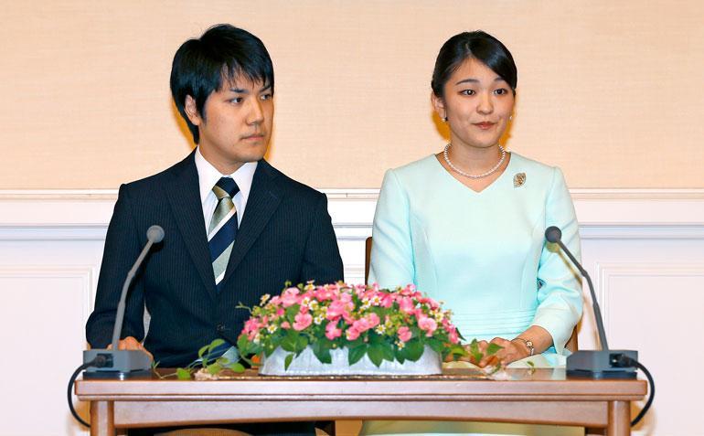 Japanin prinsessa on avioitumassa.