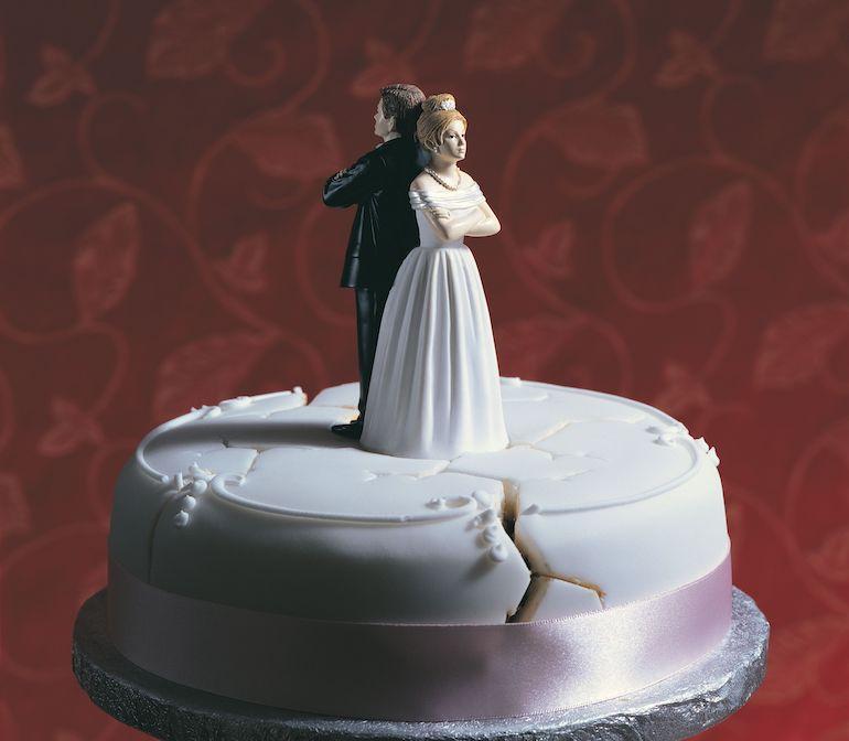 Avioliitto meni karille.
