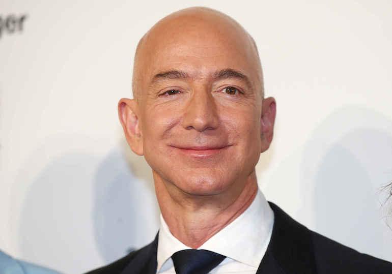 Jeff Bezos joutui skandaalin keskelle.