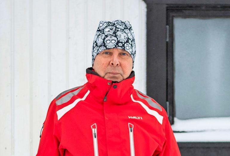 Matti Nykänen putosi saunan katolta.