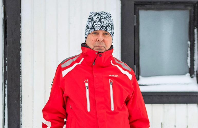 Matti Nykänen putosi katolta ennen kuolemaansa.