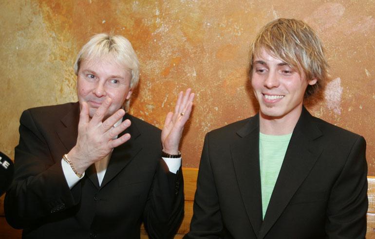 Matti Nykänen ja Jasper Pääkkönen