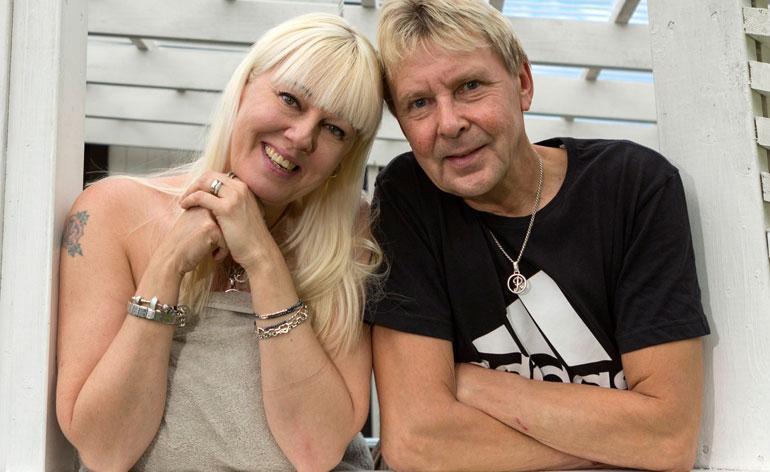 Matti ja Pia Nykänen