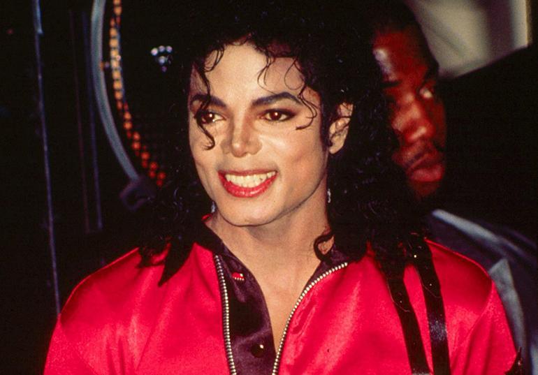 Michael Jackson vuonna 1989.