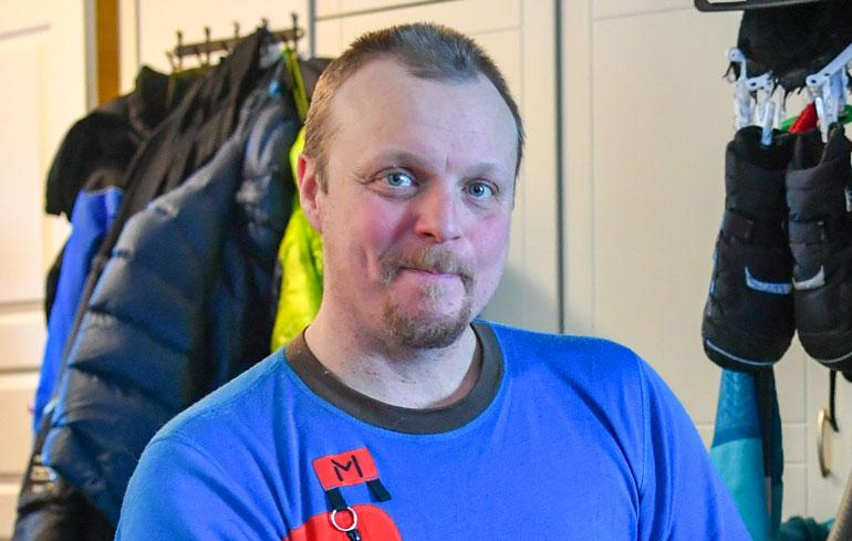 Aki Huhtanen muutti Oulusta Lappiin.