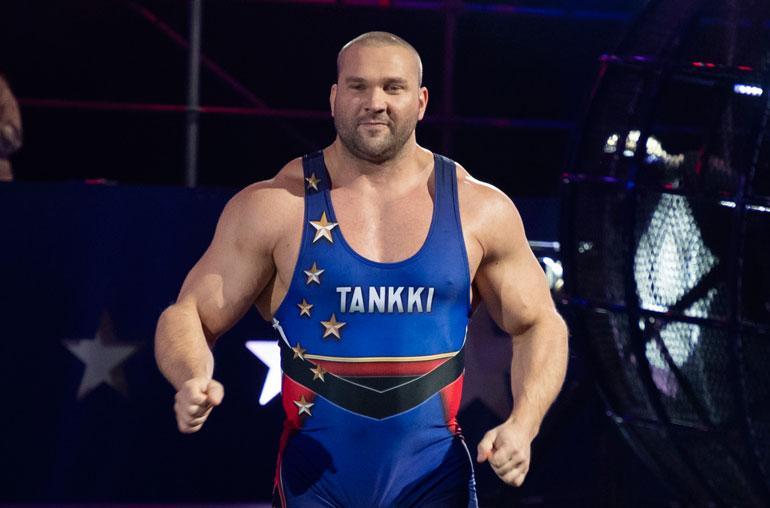Gladiaattorit-Tankki nähtiin Putous-sarjassa.