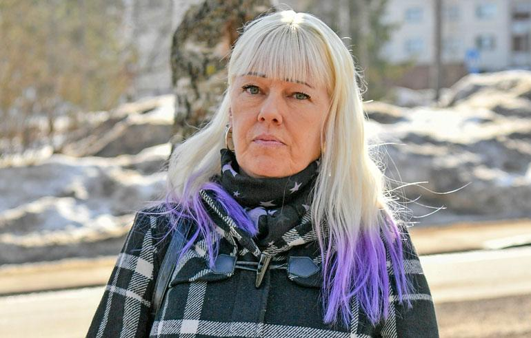 Pia Nykänen vieraili ensimmäistä kertaa Matin haudalla.
