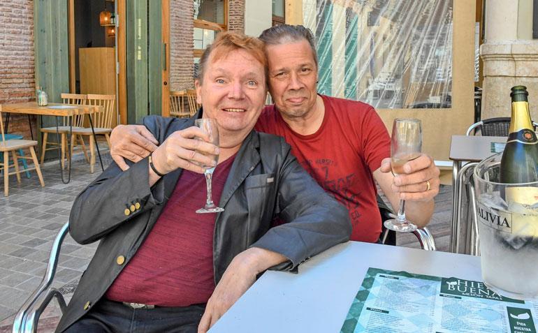 Mikko Rasila ja Marc-rakas tekivät sovinnon.