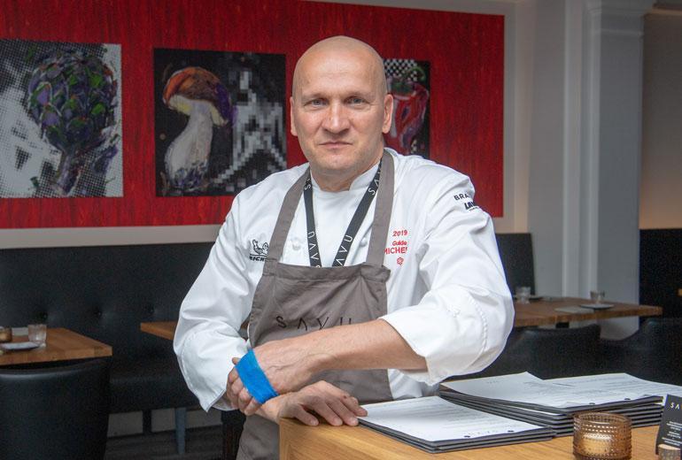Sauli Kemppainen perusti ravintolan Berliiniin.