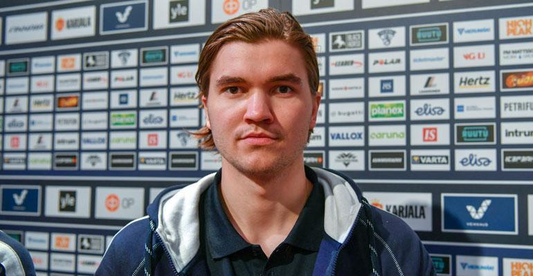 Oliwer Kaski nousi yllättäen Leijonat-tähdeksi.
