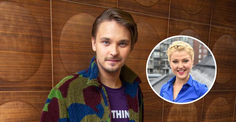 Roope Salminen ja Helmi-Leena Nummela viihtyivät Tampereella.