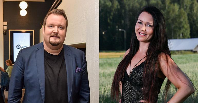 Sami Hedberg ja Saija Tuupanen lomailivat Roomassa.