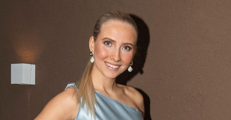 Sonja Länsivuori on Miss Suomi -semifinalisti.