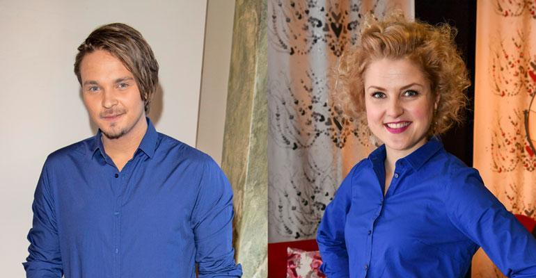 Roope Salminen ja Helmi-Leena Nummela ovat avoimesti yhdessä.