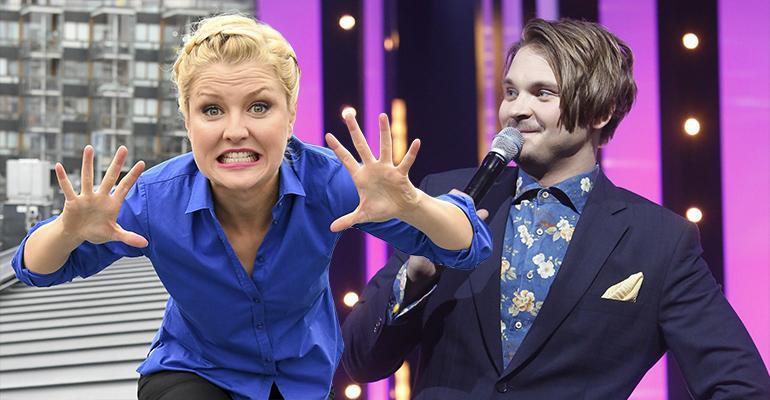 Helmi-Leena Nummela ja Roope Salminen