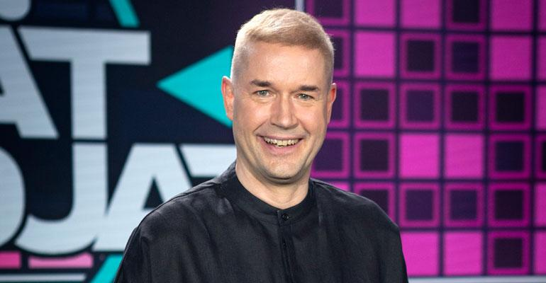 Marco Bjurström pulustaa paljon käytettyjä juontajia.