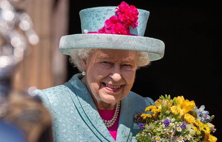 Kuningatar Elisabet juhli syntymäpäiväänsä.