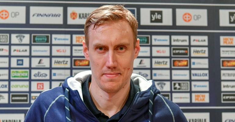 Marko Anttila on symppis.