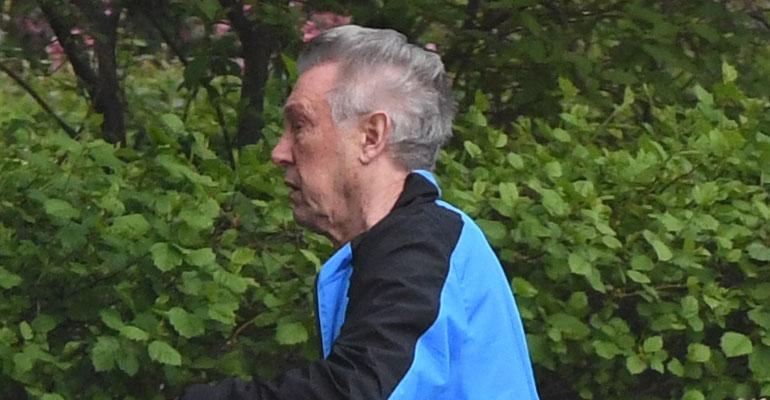 Rolf Nordström oli muuttopuuhissa.