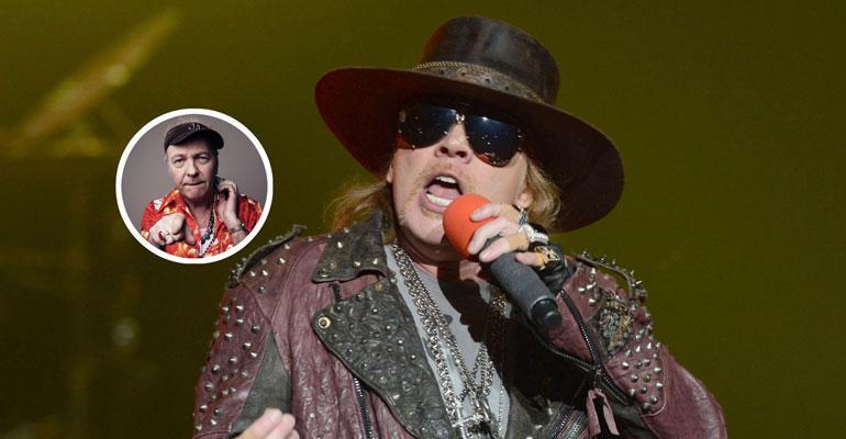 Guns N' Roses -laulaja Axl Rose on tunnetusti vaikea henkilö.