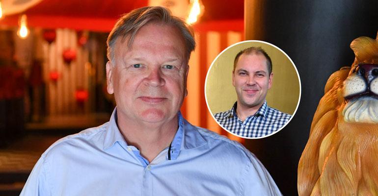 Jari Komulainen nähdään Perttu Sirviön aisaparina.