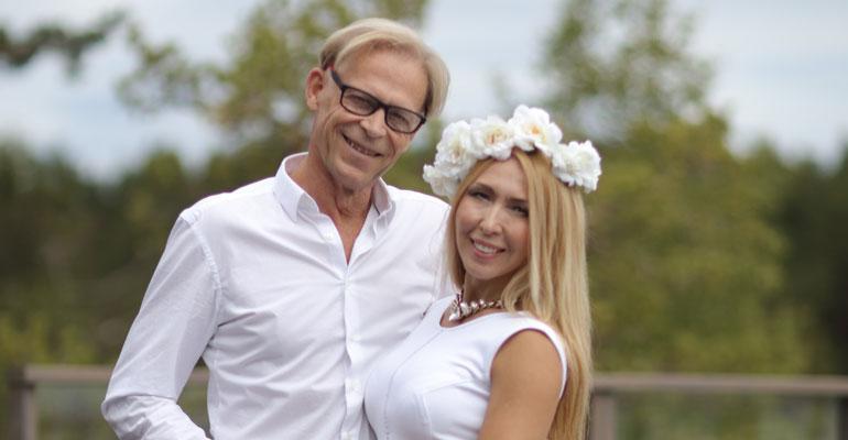 Topi ja Nadja hankkivat uuden lemmenpesän.