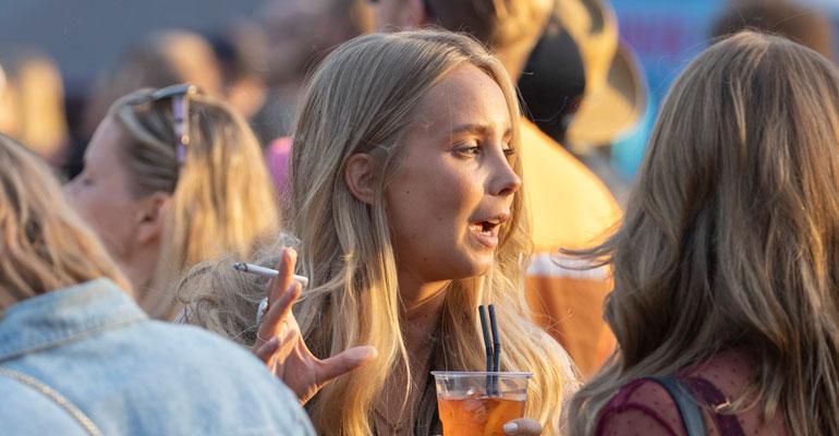 Sabina Särkkä juhli polttareitaan monta päivää.