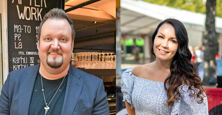 Sami Hedberg ja Saija Tuupanen muuttivat yhteen.