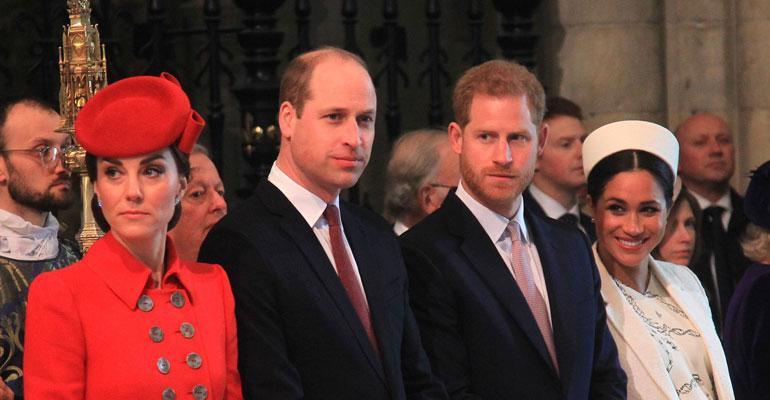 Harry ja Meghan ohittavat somesuosiossa Williamin ja Katen.