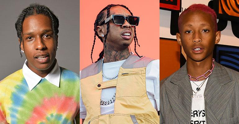 A$AP Rocky, Tyga ja Jaden Smith