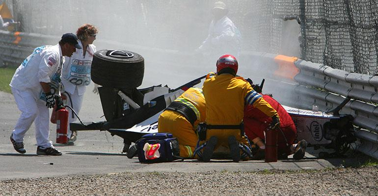 Robert Kubican onnettomuus