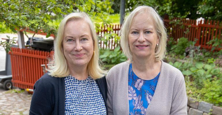 Sinikka ja Tiina Nopola perustivat Risto Räppääjälle oman yhtiön.