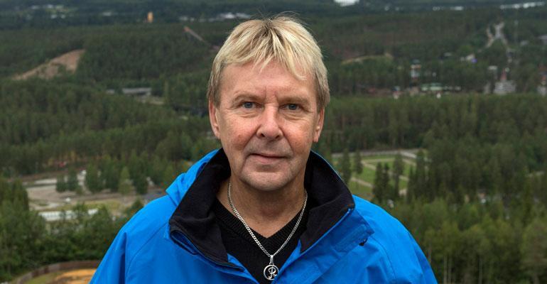 Matti Nykänen teki managerisopimuksen.