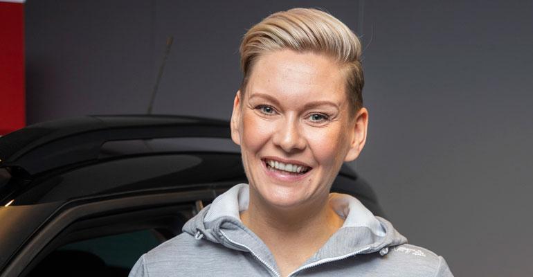 Heidi Sohlberg turvautui Tinderiin.