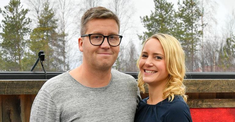 Jani Sievinen menee Maria-rakkaansa kanssa naimisiin Levillä.