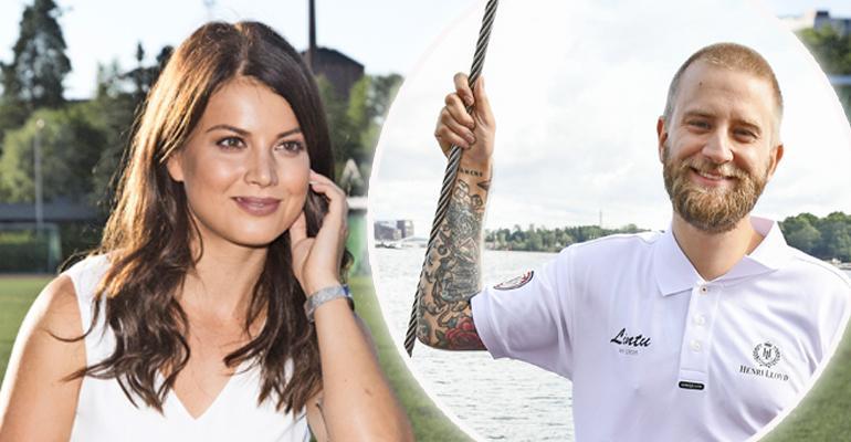 Janni Hussi ja Joel Harkimo lomailivat Italiassa.