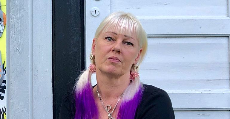 Pia Nykänen otti tatuoinnin Matin muistoksi.