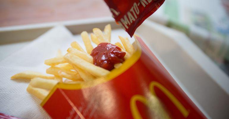 Japanilainen pikaruokaketju kopioi McDonald'sia.