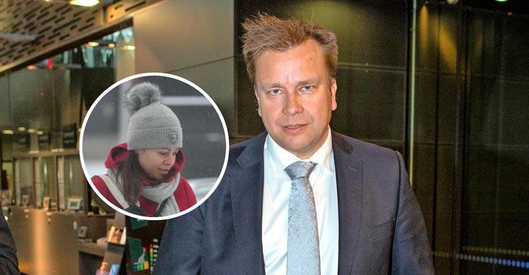 Antti Kaikkosen Jannika-rakas odotti autossa.