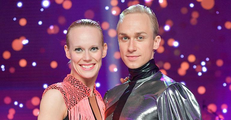Jutta Helenius ja Christoffer Strandberg