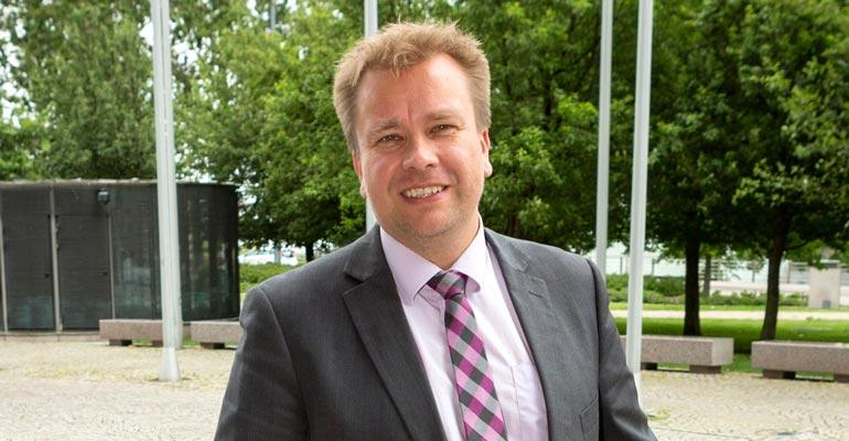 Antti Kaikkosella on uusi asunto.