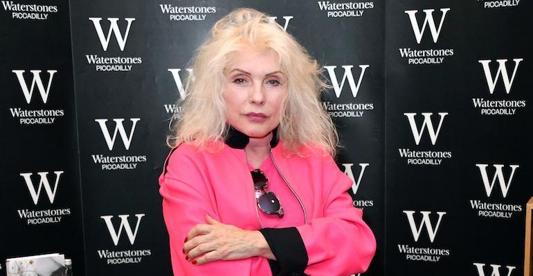 Debbie Harry puhui urastaan.
