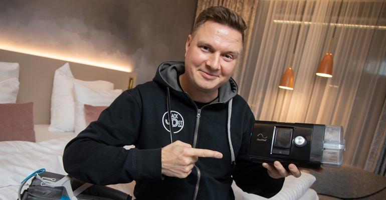 Jukka Hallikainen sai apua sairauteensa.