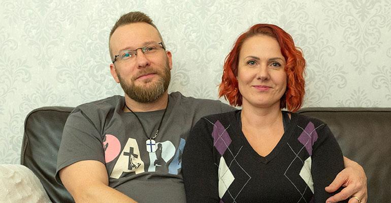 Ville ja Diana Turkkinen