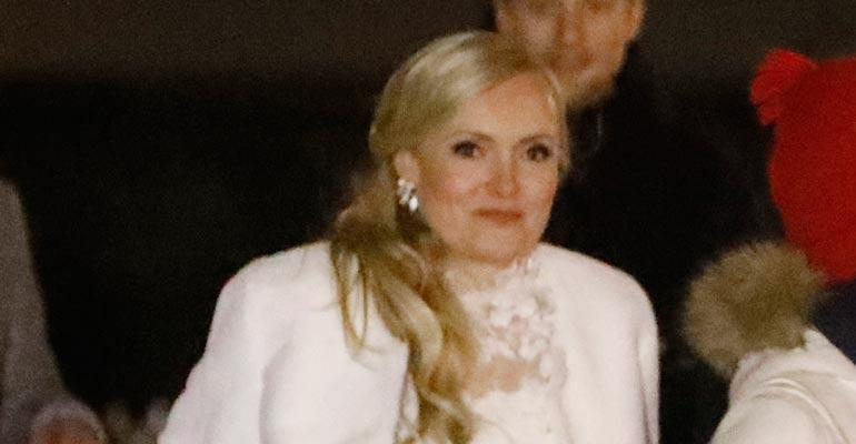 Maria Ohisalon häitä juhlittiin aamuun asti.